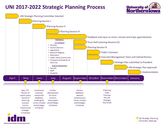 Strategic Plan Process Flowchart